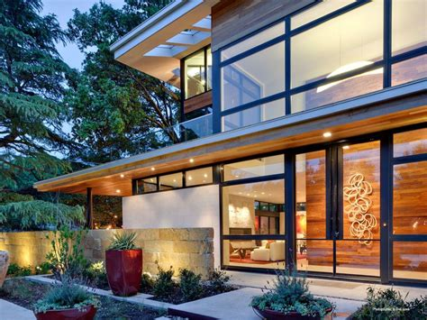 leed gold certified house with bohemian style modern