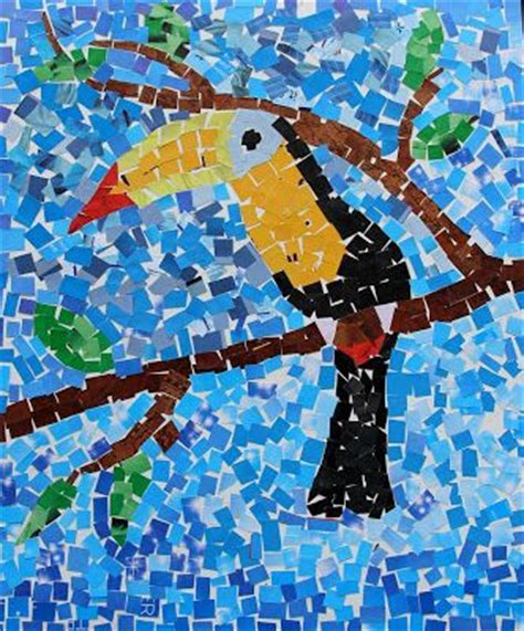 Paper Mosaic Crafts - the 25 best ideas about paper mosaic on