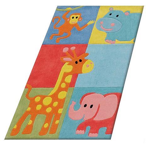 kinderzimmer teppich tiere kinderteppich tiere haus deko ideen