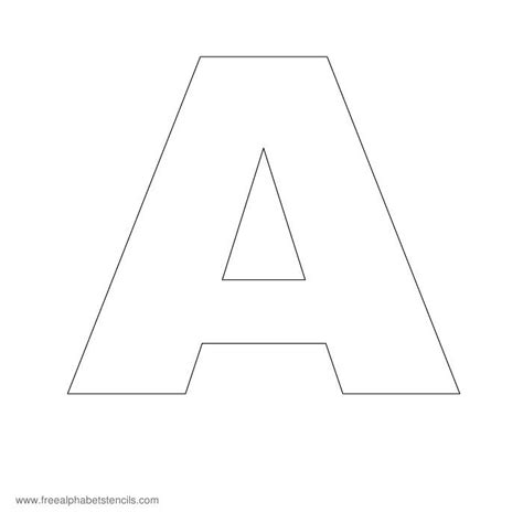 alphabet templates for posters headline poster a z alphabet stencils for signs