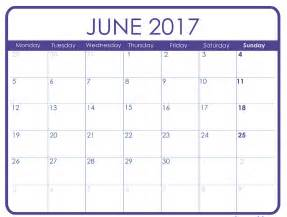 june 2017 printable calendar templates free printable