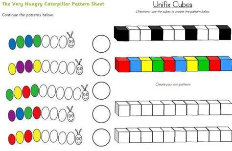 secuencia por tama 241 o y forma observa y completa la patrones de diplomas de preescolar completar patrones