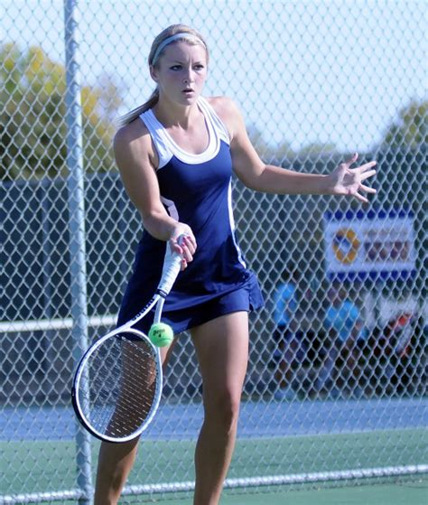 abby collins waseca girls tennis wins five of seven scc chionships