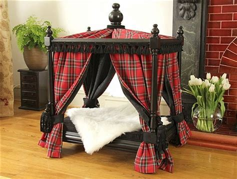 Pet Canopy Bed by Doggie Couture Shop Out Of Sight Luxury Canopy Beds