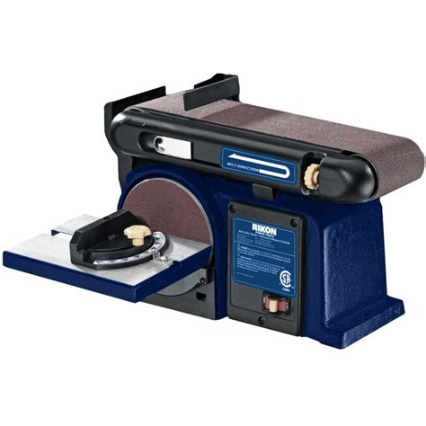 woodworking belt sander rikon 4in x 36in belt 6in disc sander rikon power tools