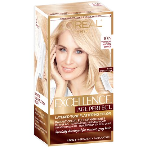 excellence hair color l oreal excellence 174 age hair color kit