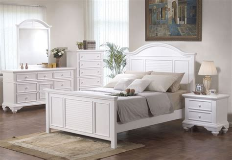 decorate the room with white colored bedroom sets latest