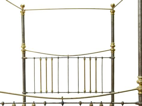 brass canopy bed rare iron and brass queen canopy bed for sale at 1stdibs