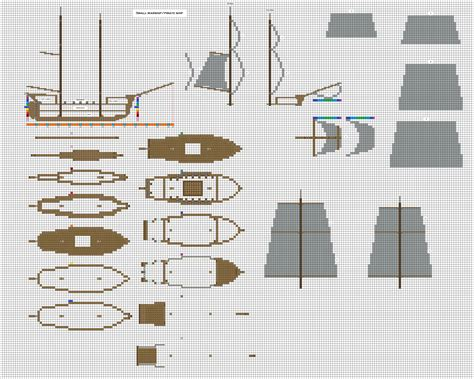 minecraft floor plan maker minecraft small pirate warship 1 wip by coltcoyote on