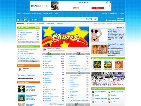 msn games free online games msn games