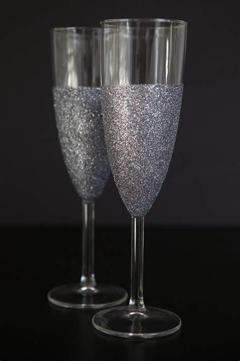 Martha Stewart Crafts Decoupage Glue - learn how easy it is to make glittered glassware
