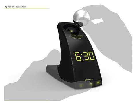 Hybrid Alarm Clock Concept by Aphelion Concept Alarm Clock Likes To Play Catch Technabob
