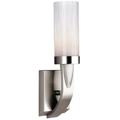 Philips Bathroom Lighting Philips Forecast F542636u Uptown 1 Light Bath In Satin Nickel Finish Ebay