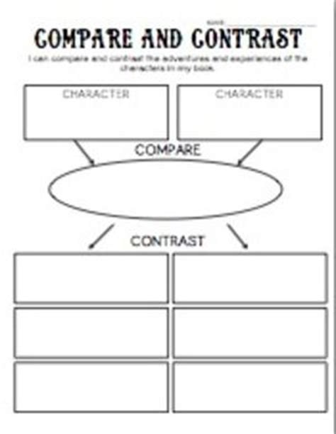 biography compare and contrast worksheet download best 25 compare and contrast ideas on pinterest in