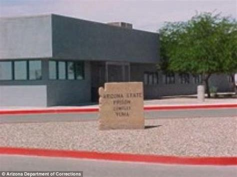 Yuma Court Records Guard Sexually Assaulted By Inmate In Arizona Prison Daily Mail