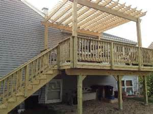 Diy Pergola On Existing Deck by Pergola Designs Existing Deck Plans Diy Free Download