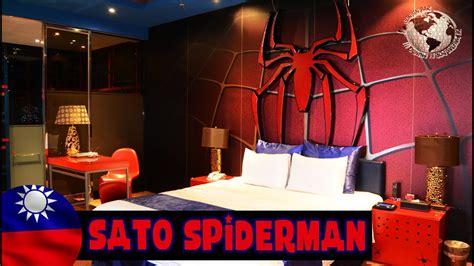 hotel sato castle habitacion spiderman taipei taiwan