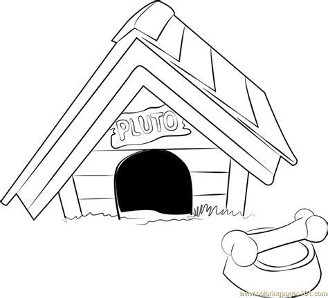 pluto dog house coloring page jpg 93 pluto the dog coloring pages to print nobby