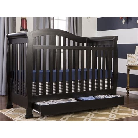 Dream On Me Addison 5 In 1 Convertible Crib With Storage Convertible Cribs With Storage