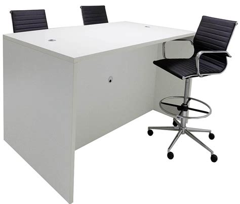 standing height conference table team collaborative standing height meeting table