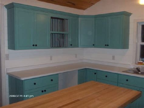 Teal Cabinets by Teal Painted Kitchen Cabinets Quicua