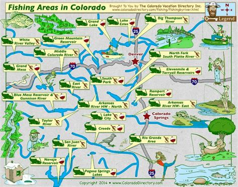 colorado map of fishing in 18 best images about colorado maps on colorado