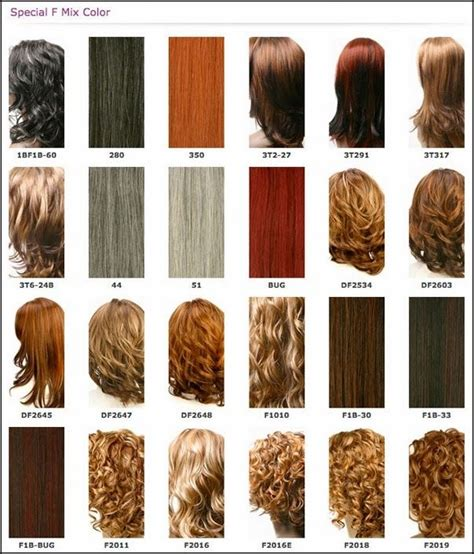 latest hairstyles color chart weave hair color chart different blonde brown red dark