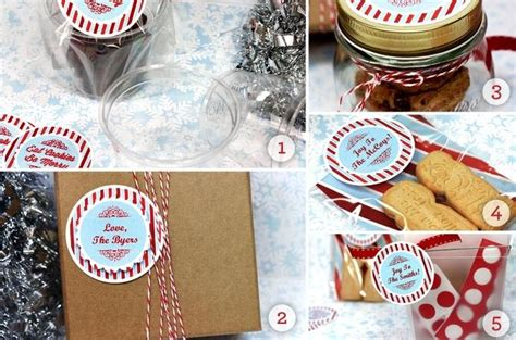 christmas cookie gift wrap ideas gift ideas pinterest