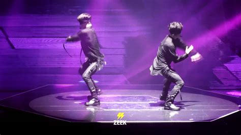 exo artificial love 160722 the exo rdium kai lay artificial love dance youtube