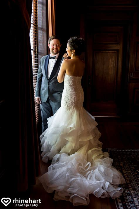 DC Wedding Photographers: Courtney & Evan at the Carnegie