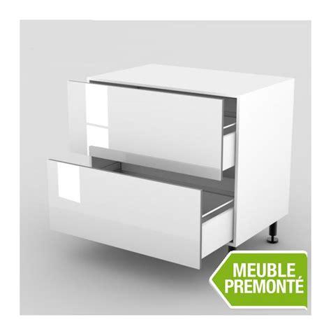 meuble bas cuisine 100 cm meuble bas 100cm 2 casseroliers 70x100 cristal blanc mcb 100cm 2cas 70 100 cristal blanc cuisine
