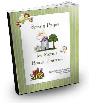 free printable homemaking journal free homemaking journal pages for spring money saving mom 174