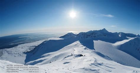 hour arctic timelapse   sun  sets twistedsifter