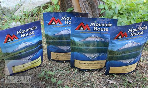 mountain house meals mountain house freeze dried food review