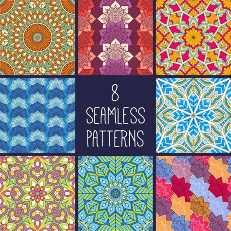 ethnic pattern vector free download 8 ethnic patterns vector free download