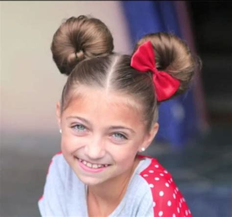 pictures on bun type hairstyles cute girl hairstyles hairstyles for little girls how to do minny mouse buns