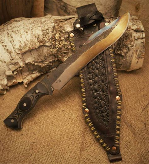 knife forge for sale handmade artisan knives and swords northstar forge mn