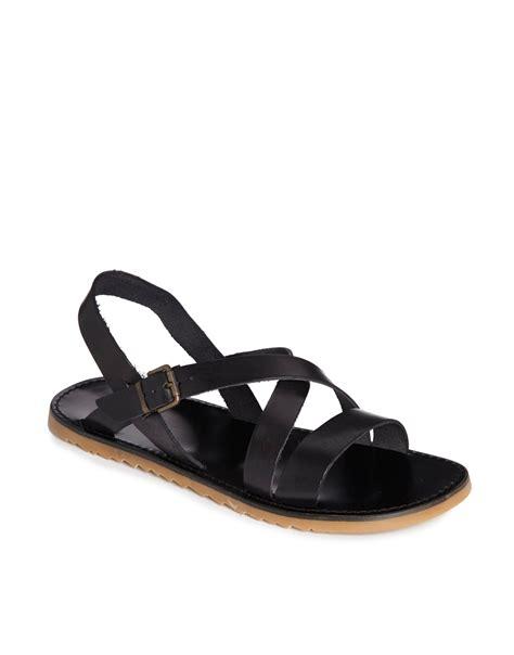 aldo sandals mens lyst aldo lorrin sandals in black for