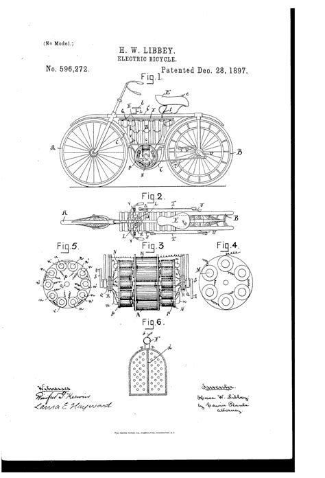 Datei Patent Electric Bicycle Png Wikipedia