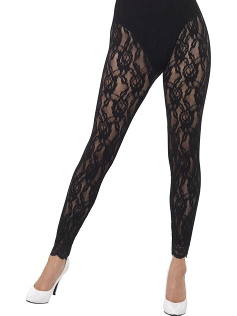 Lace Legging 80s lace 44512 fancy dress