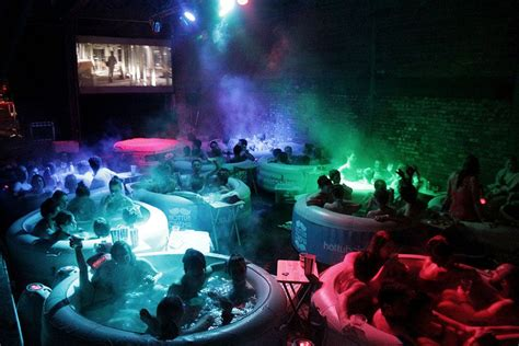 bathtub cinema hot tub cinema soak in a tub grab a popcorn watch a movie