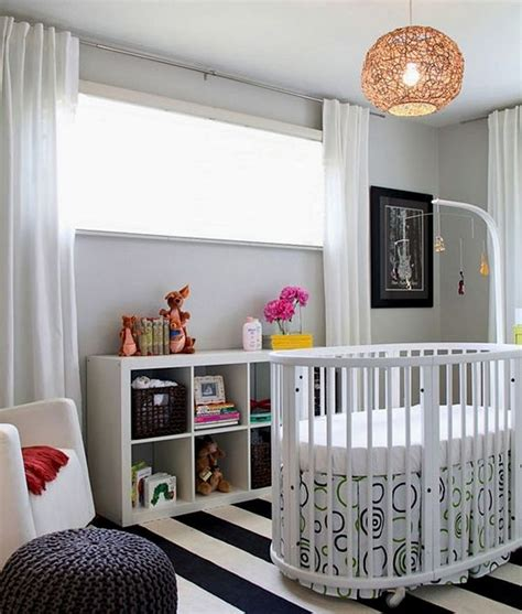 White Modern Baby Crib 26 Baby Crib Designs For A Colorful And Cozy Nursery