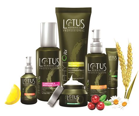 lotus herbals professional launches phytorx botanical