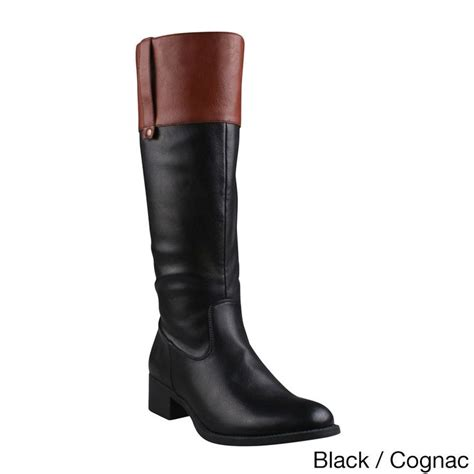 comfort riding boots refresh women s alto 03 side zip comfort riding boots