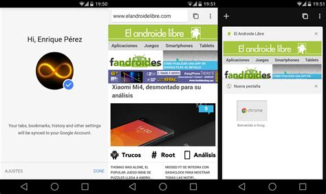 chrome beta android chrome beta 37 primeros detalles con material design y mayor rendimiento el androide libre