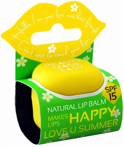 7 Great Lip Balms With Spf For Summer by U Summer Lip Balm Spf 15 7 G Ecco Verde Shop