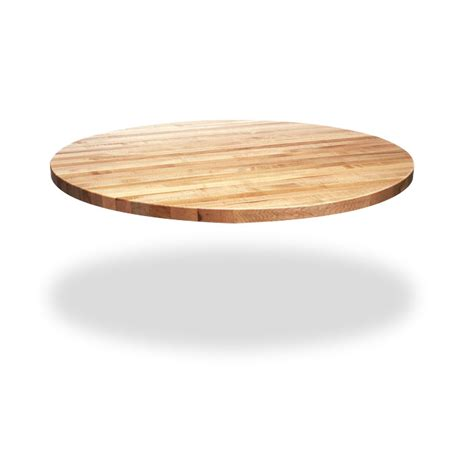 butcher block table tops circular dining table top