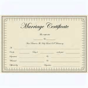 marriage certificate template microsoft word marriage certificates word layouts