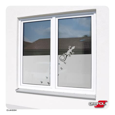 Sichtschutz Fenster Gecko by Gecko Glasdekorfolie Satiniert Sonnenschutz Fensterbild