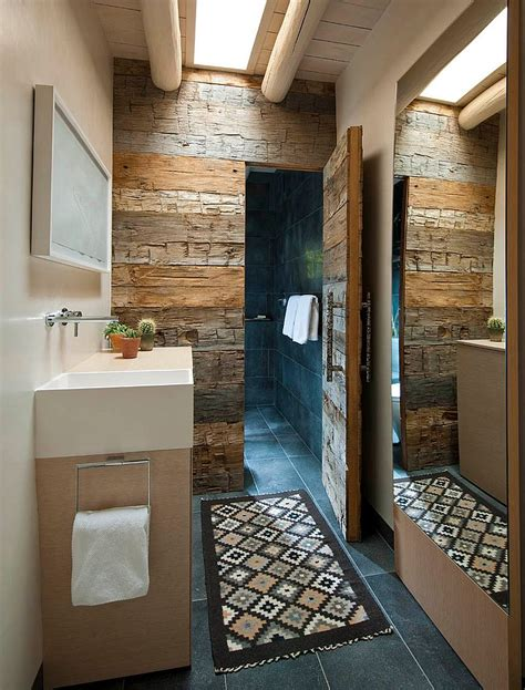 wood bathrooms salvaged style 10 ways to transform your bathroom with